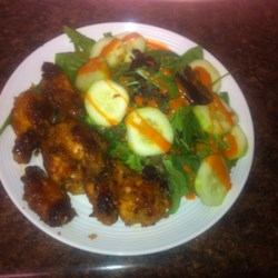 Garlic-Ginger Chicken Wings Recipe