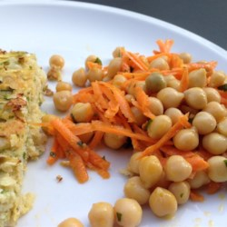 Quick and Easy Carrot and Chickpea Salad Recipe