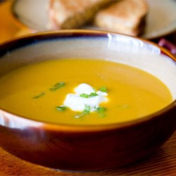 Butternut and Apple Harvest Soup Recipe