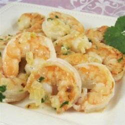 Garlic, Cilantro, and Lime Sauteed Shrimp Recipe