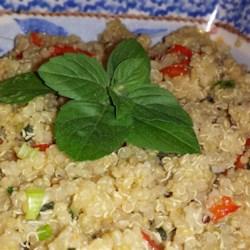 Lemon-Basil Quinoa Salad Recipe
