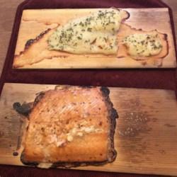 Trishie's Cedar Plank Cod Recipe