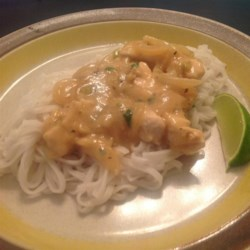 Thai-Style Chicken with Noodles Recipe
