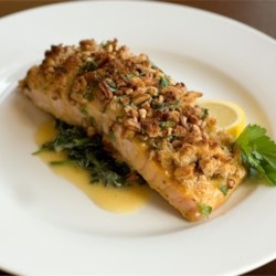 Fish recipes allrecipes alaska salmon bake with pecan crunch coating forumfinder Image collections