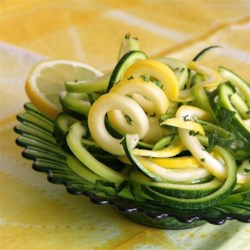 Zucchini Mint Salad Recipe