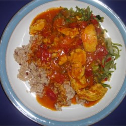 My Curried Coconut Chicken