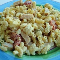 Main Dish Macaroni Salad Recipe