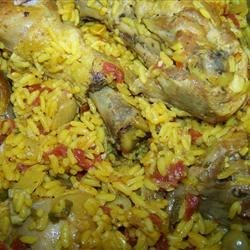 Spanish Rice Chicken I Recipe