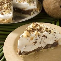 Coconut (Haupia) and Chocolate Pie Recipe
