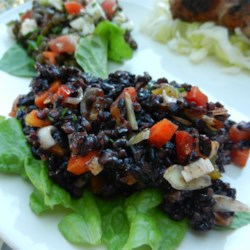 TK's Forbidden Black Rice Salad Recipe