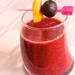 Mango Cherry Smoothie Recipe