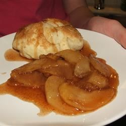 Biscuits & Fried Apples