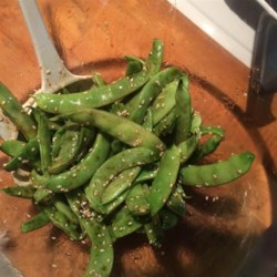 Asian Sugar Snap Pea Appetizer Recipe