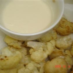 Fried Cauliflower with Tahini Sauce Recipe