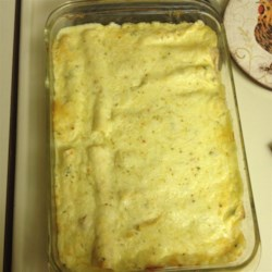 Low-Fat Sour Cream Chicken Enchiladas Recipe