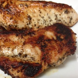 Easy Lemon and Herb Blackened Chicken