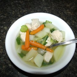Chicken and Bok Choy Soup Recipe