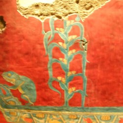 Ancient Mexican Corn Painting