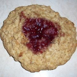 Oatmeal Thumbprints Recipe