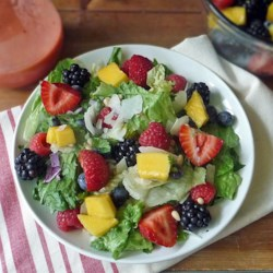 Spinach fruit and nut salad recipes