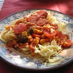 Image of Al's Quick Vegetarian Spaghetti, AllRecipes