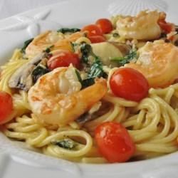 Exchange Gang Pasta with Shrimp