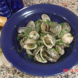 Clams and Garlic