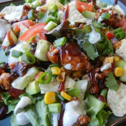 BBQ Chicken Chopped Salad Recipe