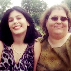 Me and my late mother