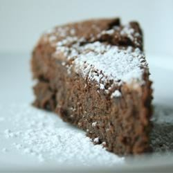 Garbanzo Bean Chocolate Cake (Gluten Free!)