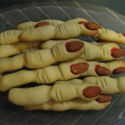 Spooky Witch Finger Cookies