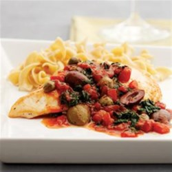 Sicilian Olive Chicken Recipe