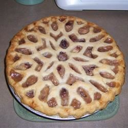 Peach-A-Berry Pie