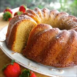 White Wine Pound Cake Recipe