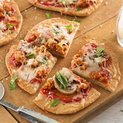 Sausage Mushroom Pizza |
