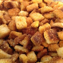 Cheese Garlic Croutons Recipe
