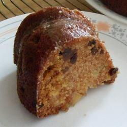 Apple Cake with Raisins Recipe
