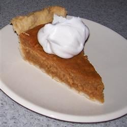 Yummy Pumpkin Pie Recipe