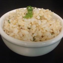 Copycat Chipotle(R) Cilantro-Lime Brown Rice