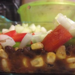 Spicy Bean and Corn Salsa Side Recipe