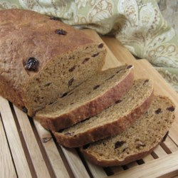 Oatmeal Raisin Molasses Bread Recipe
