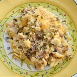 Creamy Wild Rice Chicken Casserole Recipe