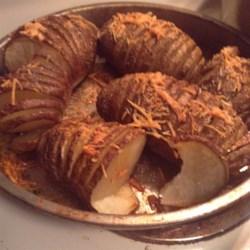 Fabienne's Hasselback Potatoes Recipe