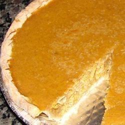 Homemade Pumkin Pie