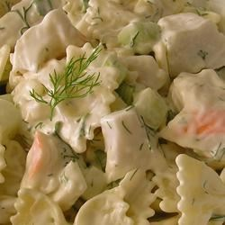 Fresh Dill Pasta Salad Recipe
