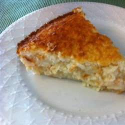 No Crust Coconut Pie Recipe