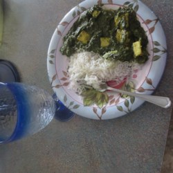 Palak Paneer (Spinach Curry) Recipe