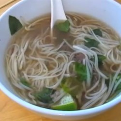 Spicy Vietnamese Beef Noodle Soup  Recipe