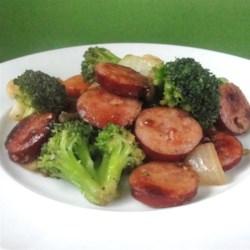 Easy Kielbasa Skillet Dinner Recipe