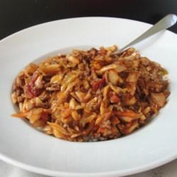 Spicy Unstuffed Cabbage Recipe